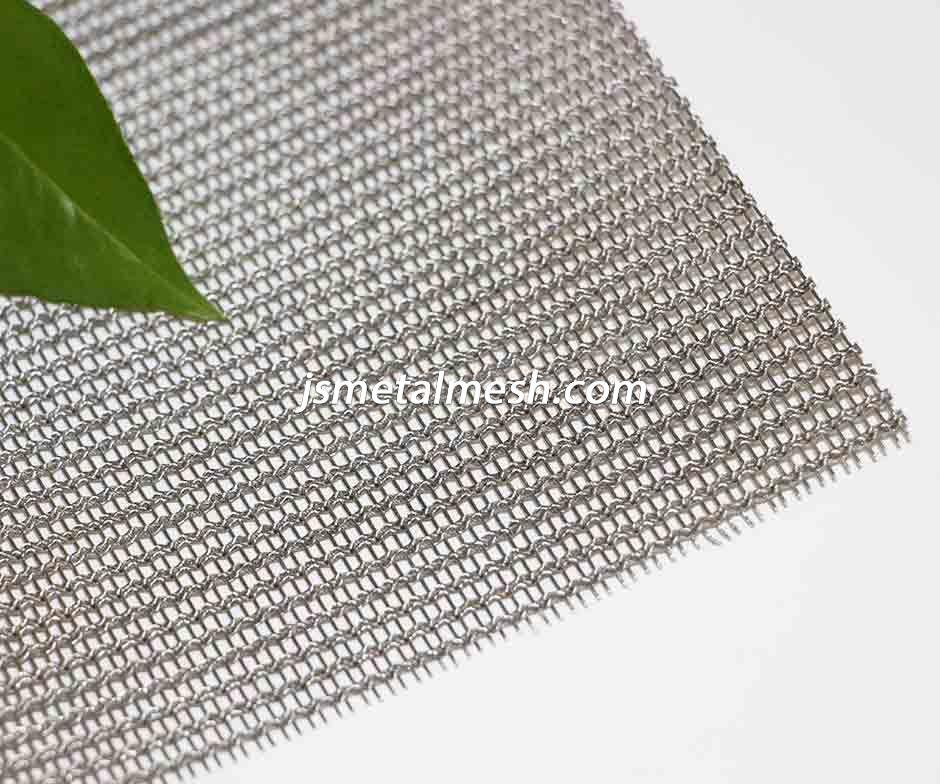 Woven Decorative Metal Mesh Fabric