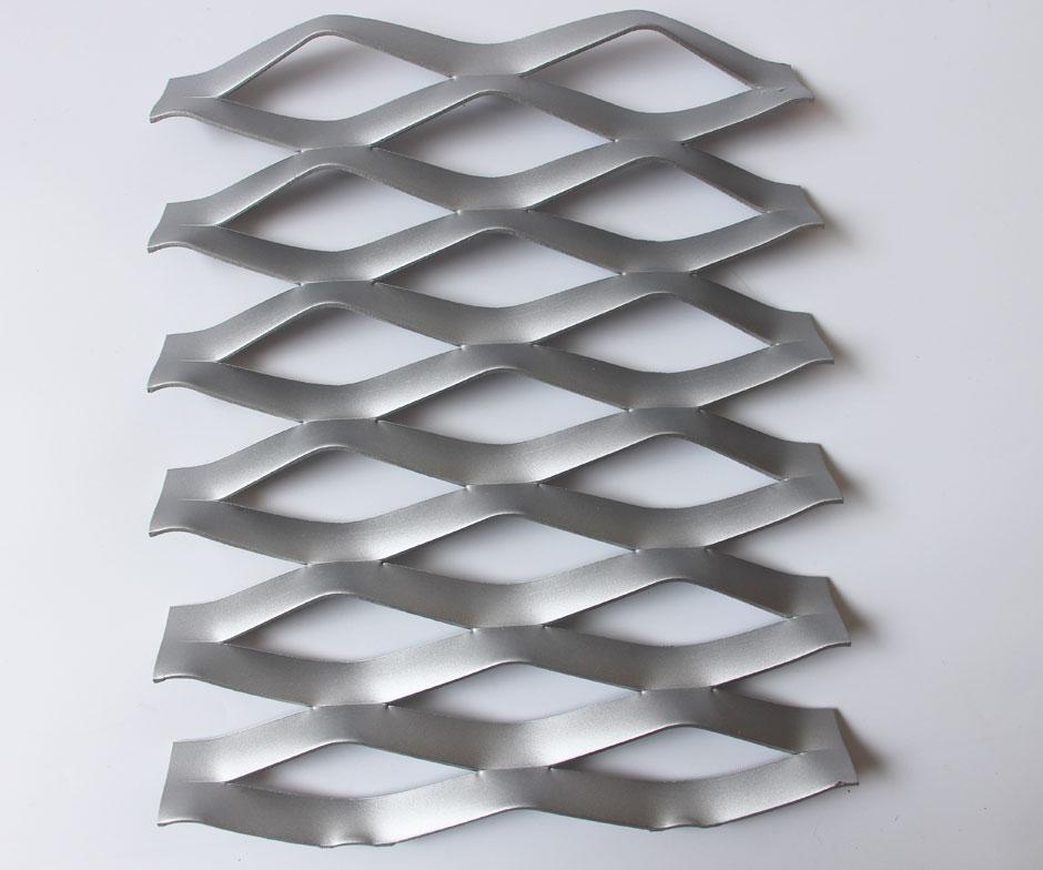 Decorative Aluminum Expanded Metal Facade