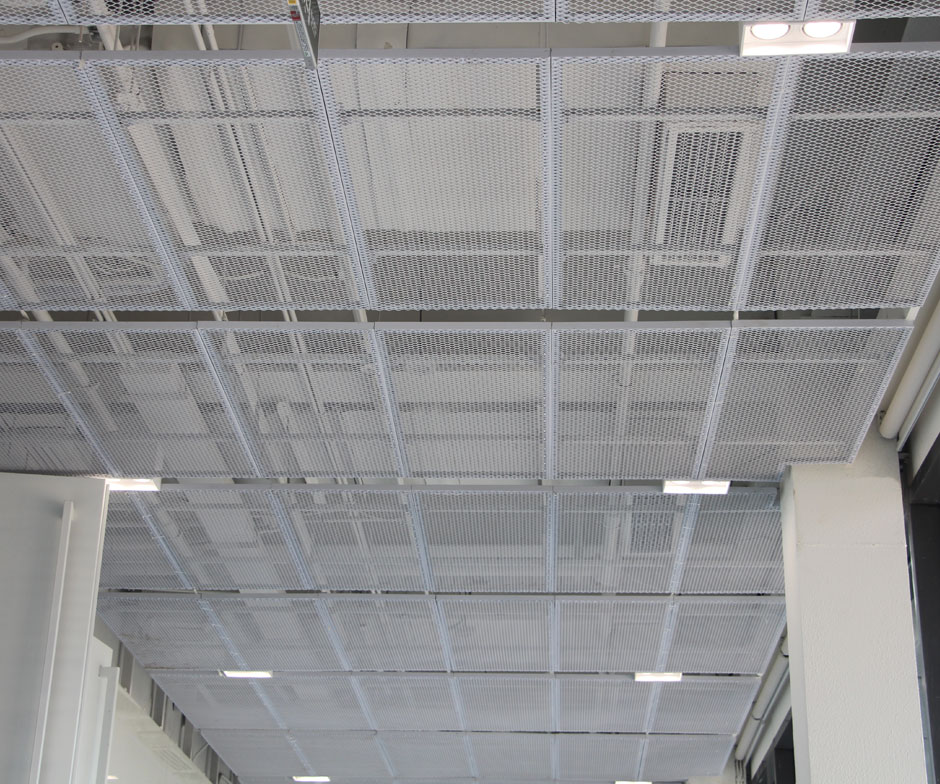 Aluminum Expanded Metal Ceiling