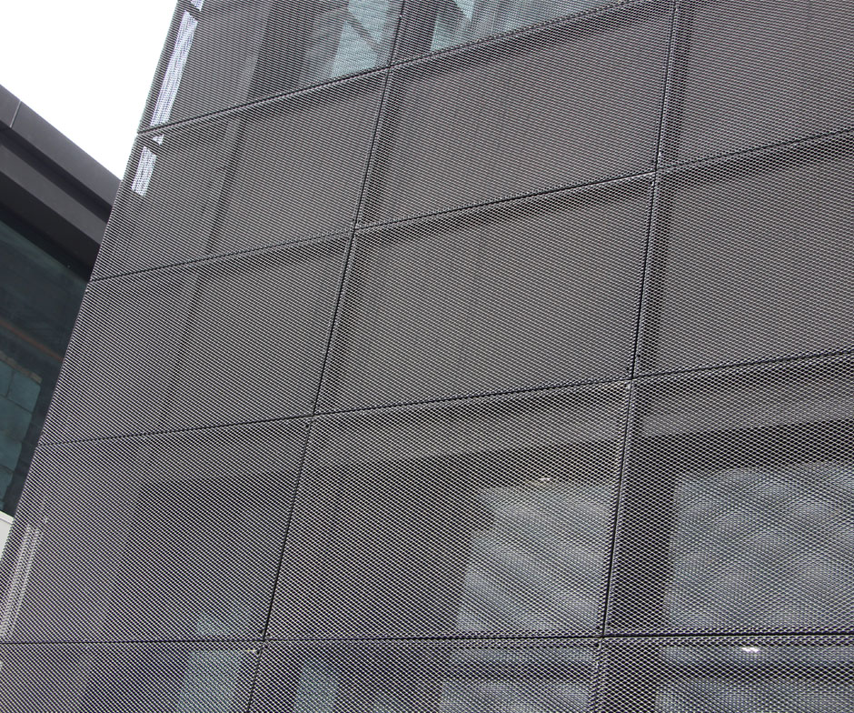Alunminum Expanded Metal Curtain Wall Panel